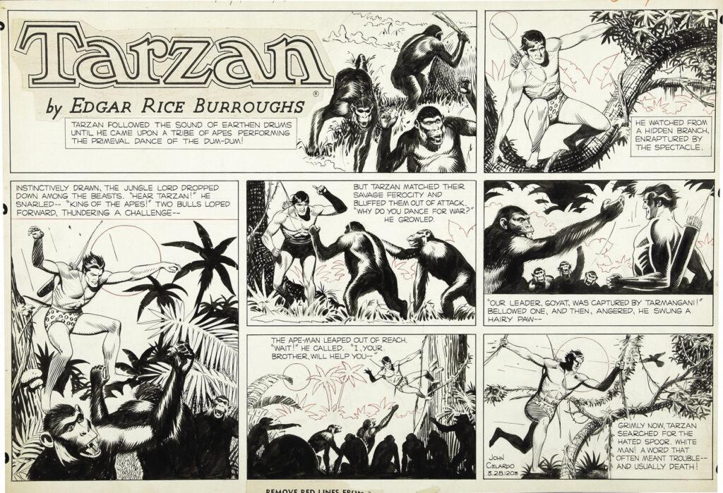 Tarzan Sunday 3 28 19xx by John Celardo