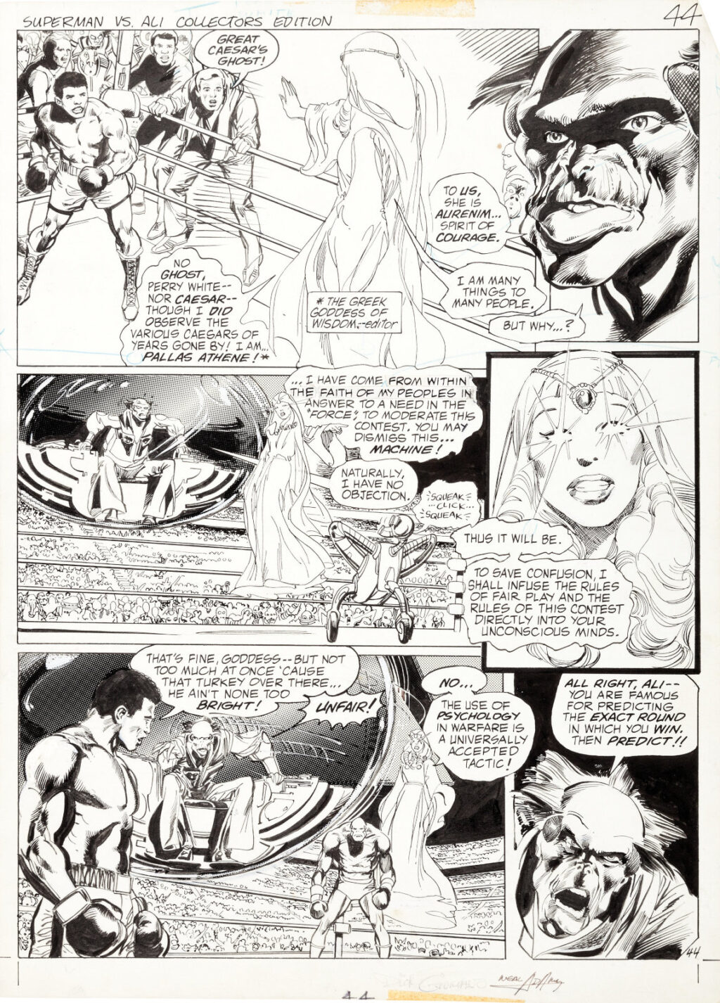 All New Collectors Edition C 56 page 44 by Neal Adams and Dick Giordano