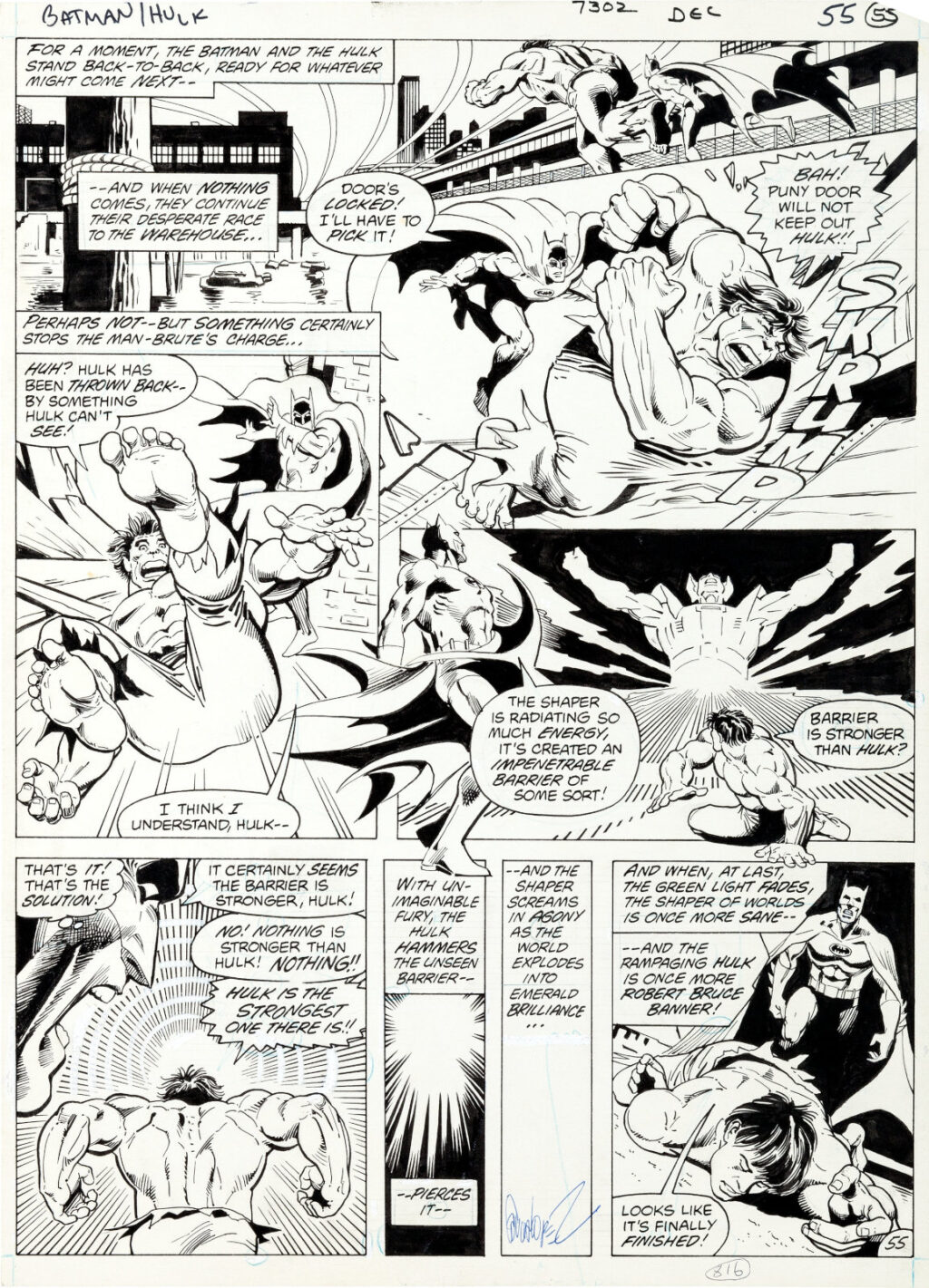 DC Special Series issue 27 page 55 by Jose Luis Garcia Lopez and Dick Giordano