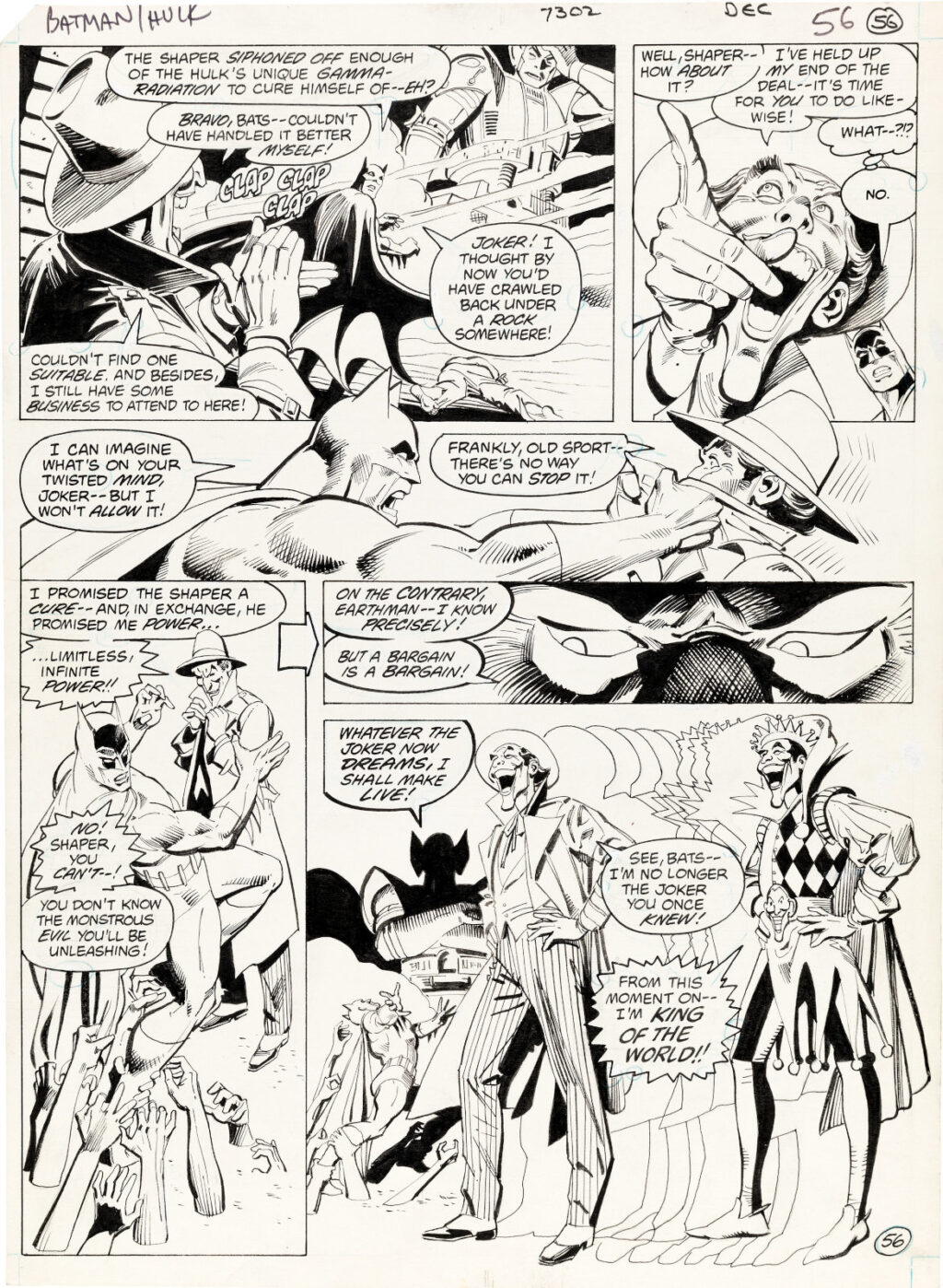 DC Special Series issue 27 page 56 by Jose Luis Garcia Lopez and Dick Giordano