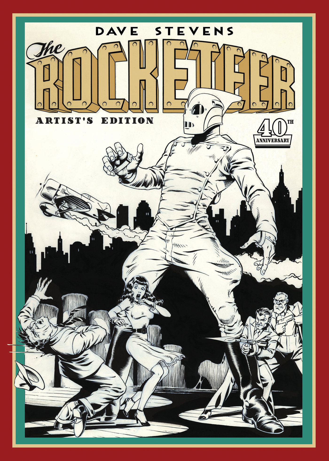 Dave Stevens The Rocketeer 40th Anniversary Artists Edition cover