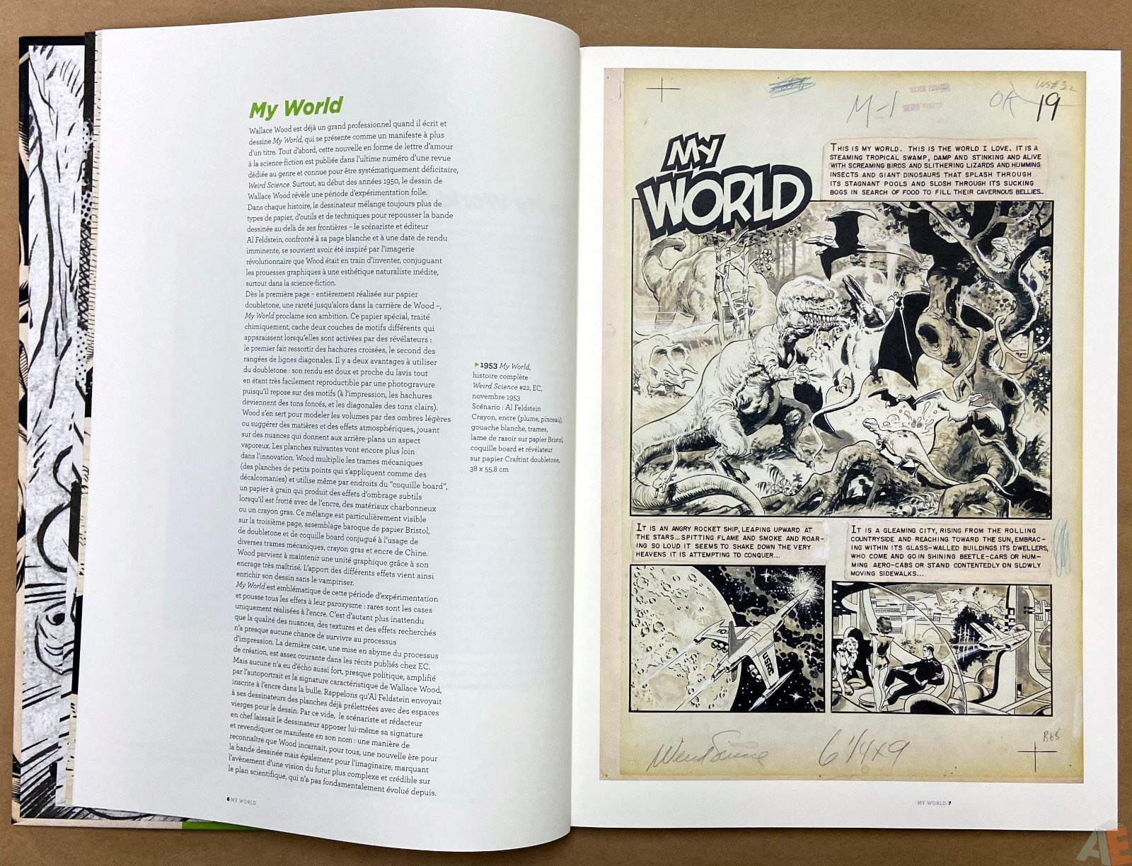Les Mondes De Wallace Wood catalogue interior 1