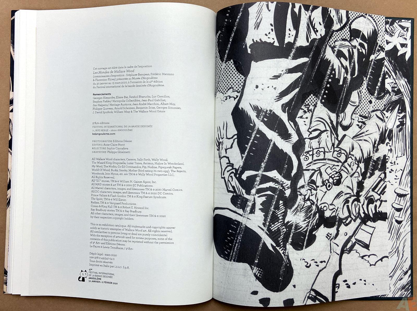 Les Mondes De Wallace Wood catalogue interior 20