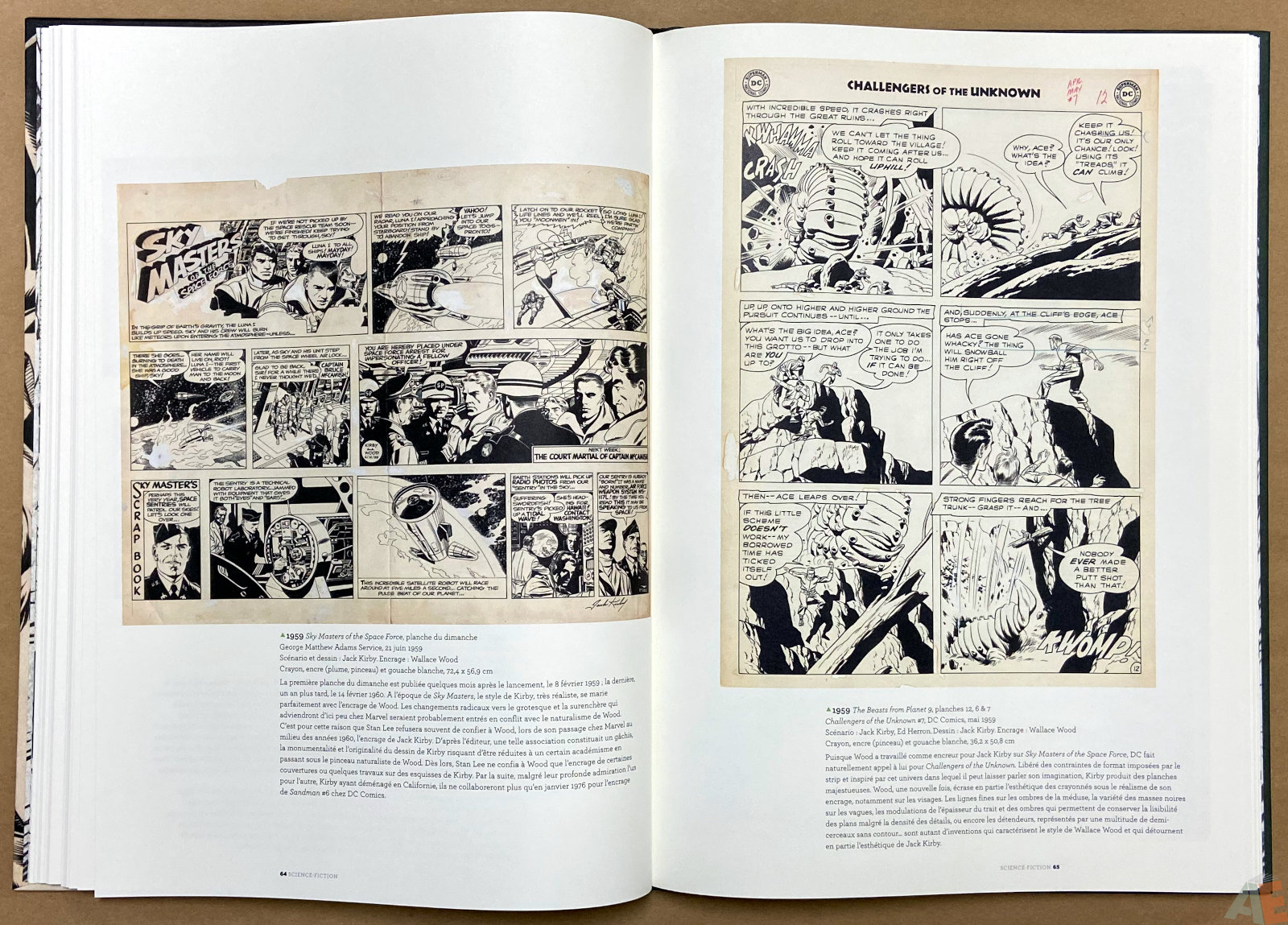 Les Mondes De Wallace Wood catalogue interior 7