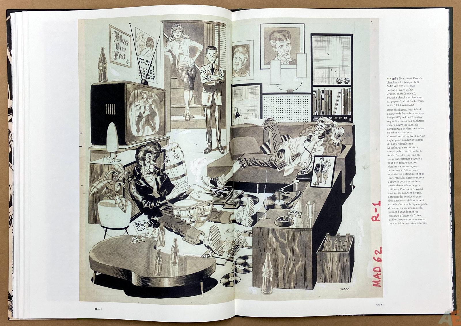 Les Mondes De Wallace Wood catalogue interior 9