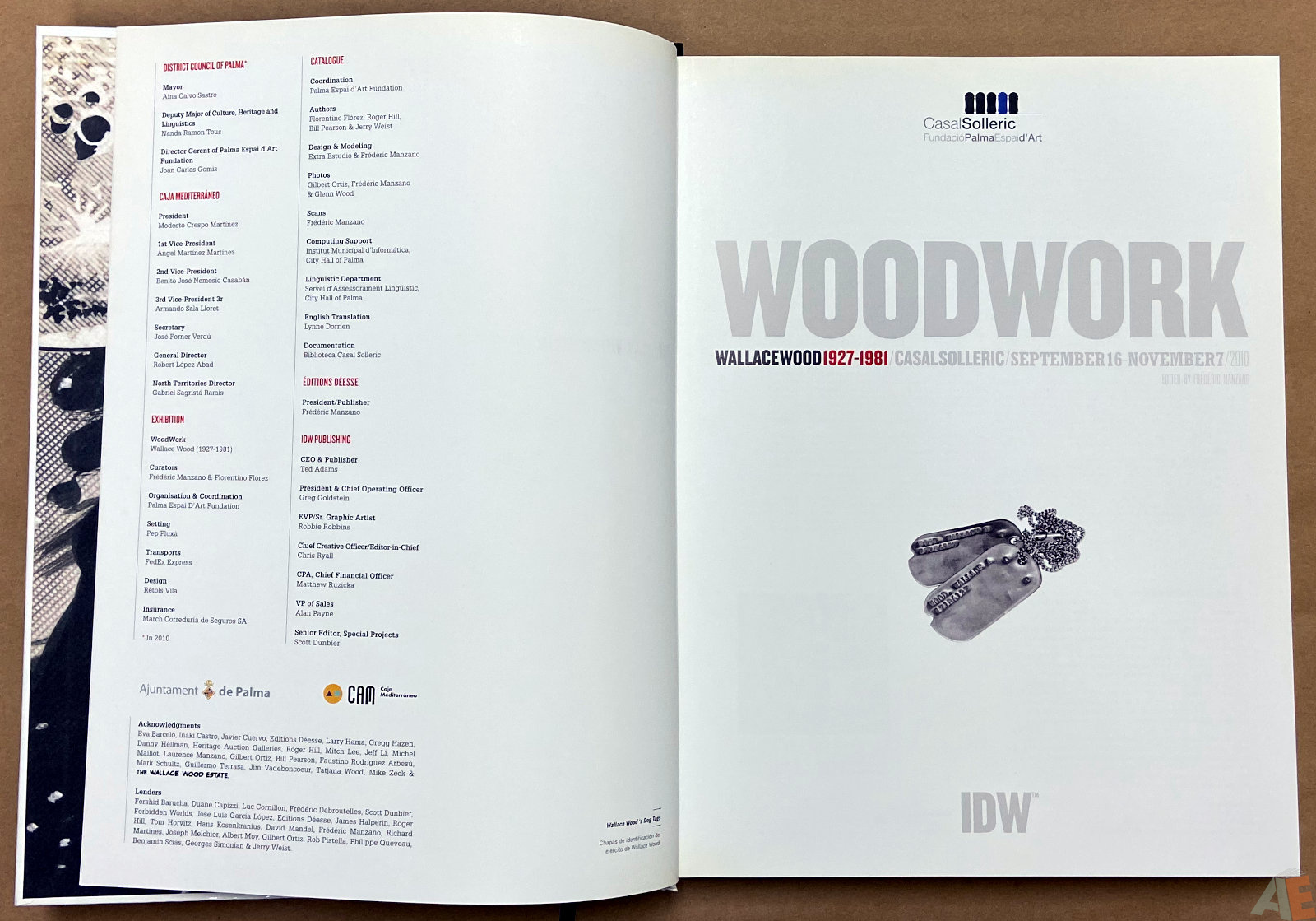 Woodwork Wallace Wood 1927 1981 interior 1