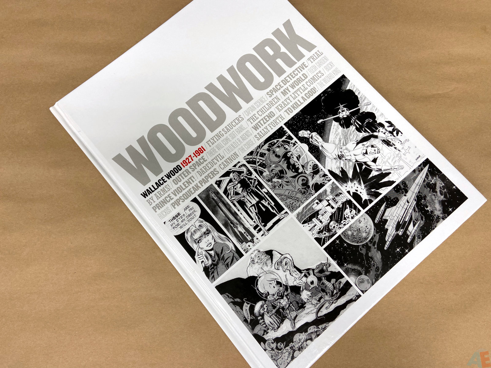 Woodwork Wallace Wood 1927 1981 interior 27