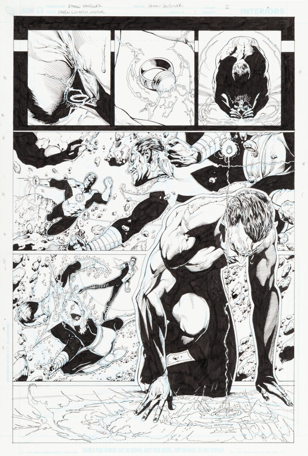 Green Lantern Annual issue 1 page 2 by Ethan Van Sciver