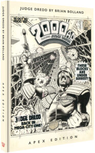 Judge Dredd by Brian Bolland Apex Edition cover