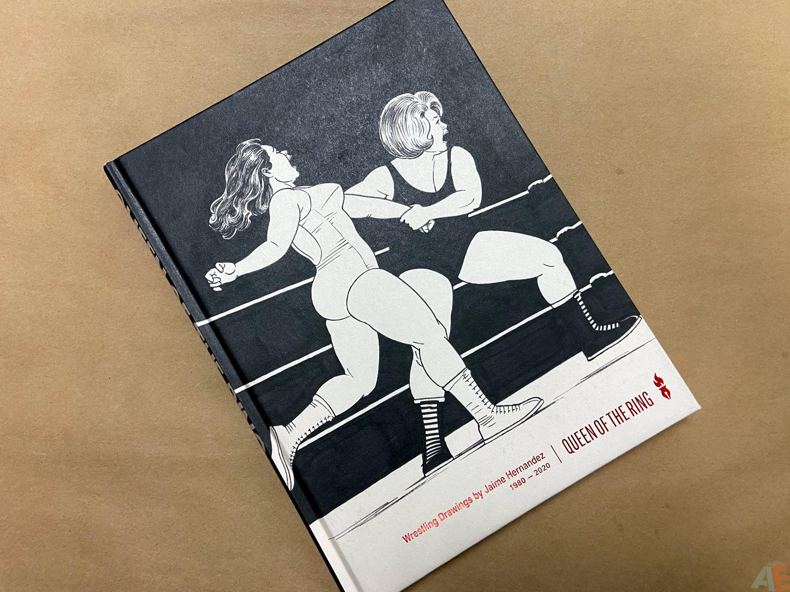 Queen of the Ring Wrestling Drawings by Jaime Hernandez 1980 2020 interior 14