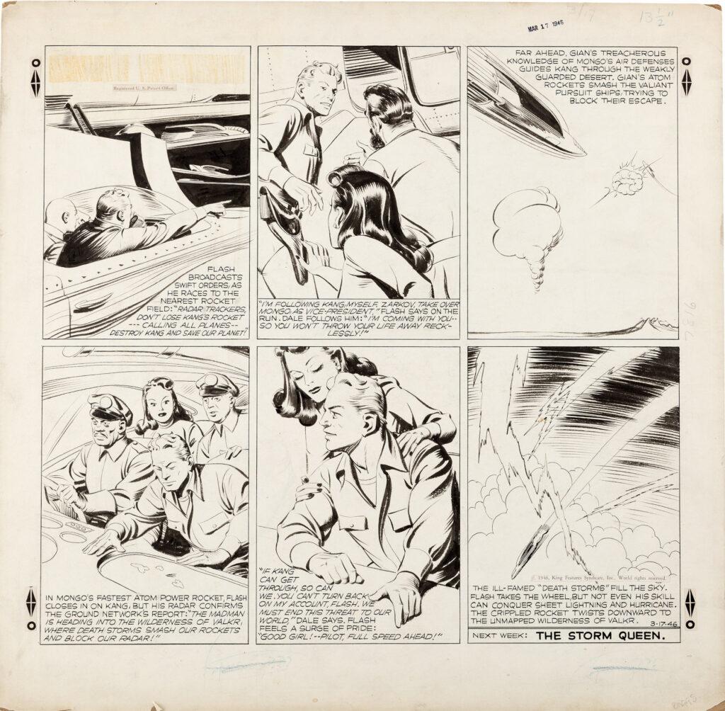 Flash Gordon Sunday 3 17 46 by Austin Briggs