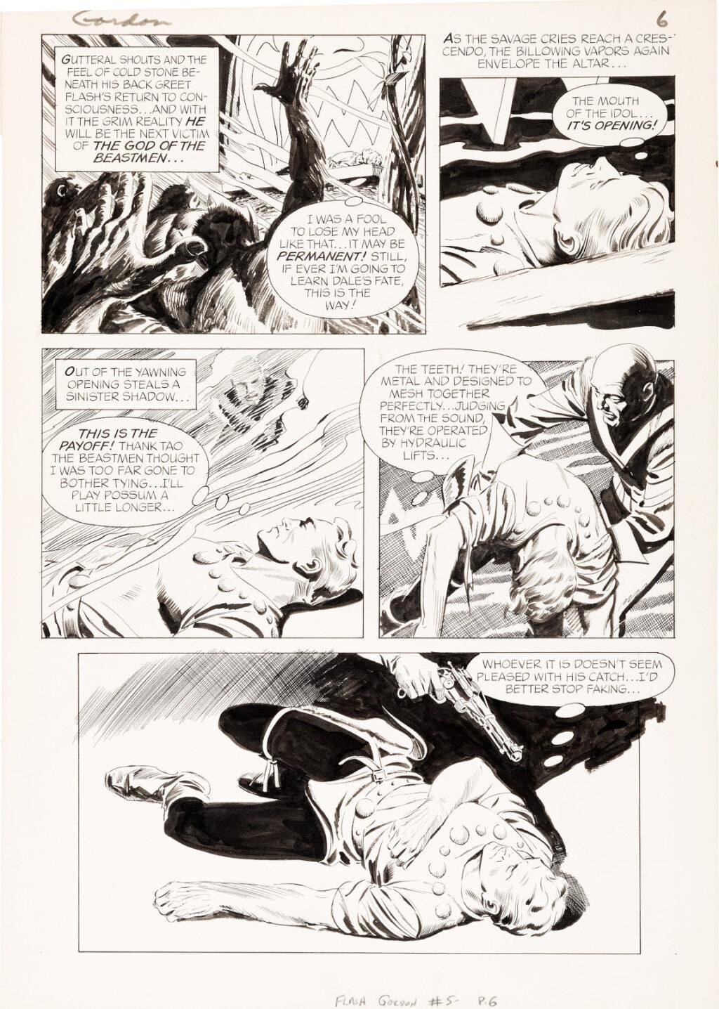 Flash Gordon issue 5 page 6 by Al Williamson