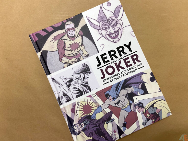 Jerry and the Joker Adventures and Comic Art interior 12